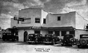 Flamingo Cafe, 1939, Orlando FL