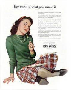 1940s Insurance Advertising