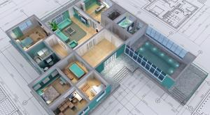 Isometric House Rendering